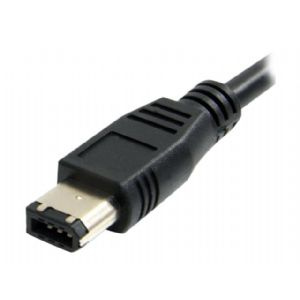StarTech.com 1 ft IEEE-1394 Firewire Cable 9-6 M/M