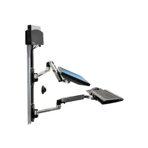 Ergotron LX Wall Mount System with Small CPU