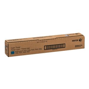 Xerox - cyan - original - toner cartridge
