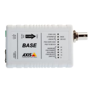 AXIS T8640 Ethernet Over Coax Adaptor PoE+ - media