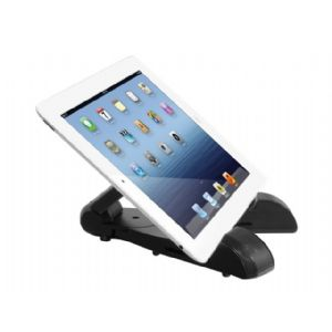 Aluratek Bluetooth Wireless Speaker Tablet Stand