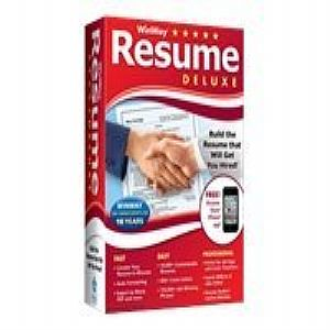 WinWay Resume Deluxe v 14 complete package 1 user Win