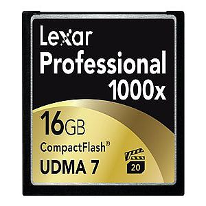Lexar Professional 16GB CompactFlash Card