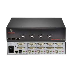 Avocent Switchview DVI - KVM / audio / USB switch