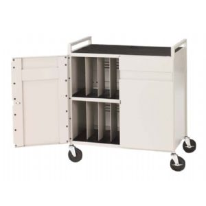 NB COMPUTER CART-FOR 15 LAPTOPS
