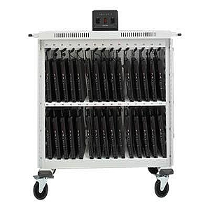 30UNIT LAPTOP CART V-FRONT/REAR ACC PWR BRAIN