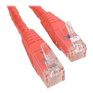 StarTech.com 15 ft Red Cat6 / Cat 6 Molded Patch
