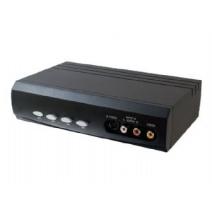 C2G 4x2 S-Video + Composite Video + Stereo Audio
