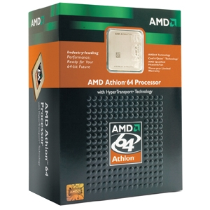AMD Athlon 64 3000+ w/Fan (Retail)