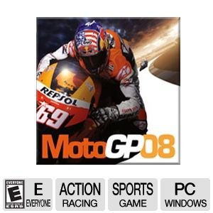MOTO GP 08 PC Video Game