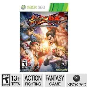 Capcom Street Fighter X Tekken Video Game