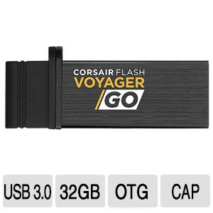 Corsair 32GB Flash Voyager GO - CMFVG-32GB-NA