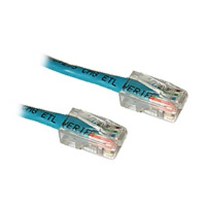 Cables to Go 24389 25-Foot 50-Pack Cat5e 350Mhz Patch Cable, Blue by