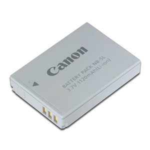 CANON NB-5L Lithium-Ion Rechargeable Battery Pack