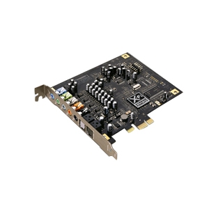 Creative Labs SB X-FI Titanium PCIe Sound Card