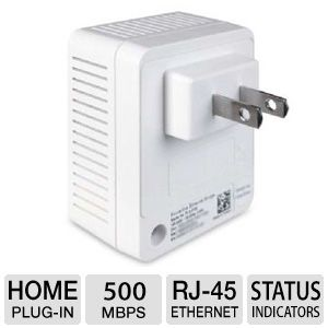 DIAMOND 500Mbps AV Powerline Adapter Kit
