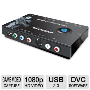 Diamond Multimedia 1080p HD Game Video Capture
