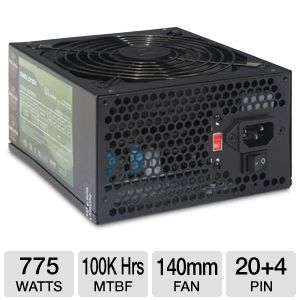 DiabloTek UL Series ATX 775W Power Supply