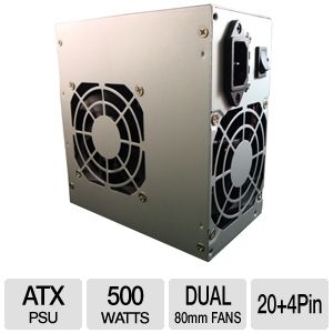 Diablotek PSDA500 DA Series ATX 500W Power Supply