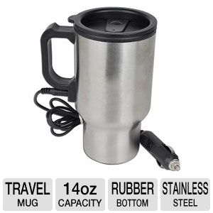 Roadmaster DHM140 12 Volt Heated Travel Mug