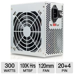 DiabloTek DA Series 300W ATX Power Supply