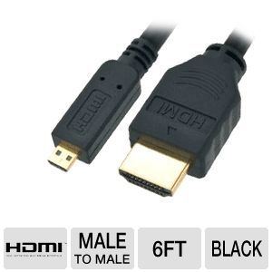 Diablotek 6ft Micro HDMI to HDMI Cable