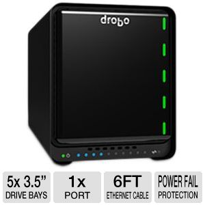 Drobo 5N Network Attached Storage Array