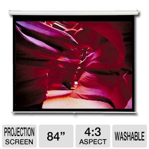 AccuScreen 84&quot; Projector Screen