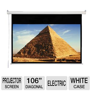 "Accuscreen 106"" Electric Projector Screen"