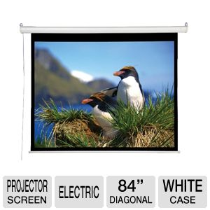 "AccuScreen 84"" Projector Screen"