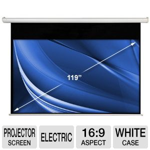 "Accuscreen 119"" 16:9 Electric Projection Screen"