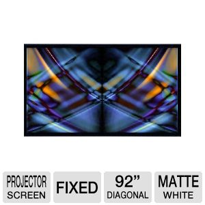 AccuScreens 800018 Fixed Frame Projector Screen