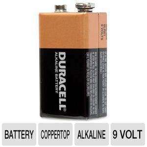 Duracell CopperTop Single 9 volt Battery