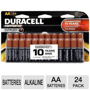 Duracell 24-Pack AA Batteries