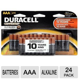Duracell 24-Pack AAA Batteries