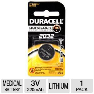 Duracell 3 Volt Lithium Home Use Medical Battery