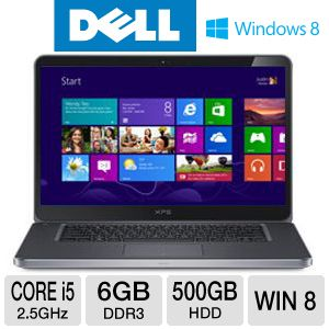 "Dell XPS 15.6"" Core i5 500GB+32GB SSD Notebook"