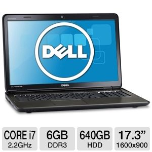 Dell Inspiron 17.3&quot; Core i7 640GB HDD Notebook