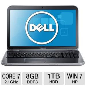 "Dell Inspiron 17R 17.3"" Core i7 1TB HDD Notebook"