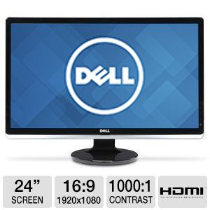 "Dell 24"" 1080p, Widescreen, LED Monitor w/ HDMI"