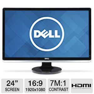 "Dell 24"" HDMI Widescreen LED Monitor"