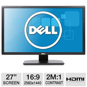 "Dell UltraSharp 27"" Class Widescreen LED Monitor"