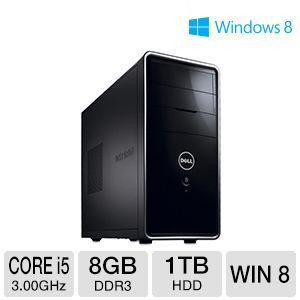 Dell Inspiron Core i5 1TB HDD 8GB DDR3 Desktop PC