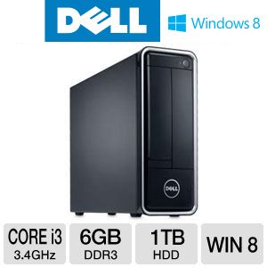 Dell Inspiron Core i3 1TB HDD 6GB RAM Desktop PC