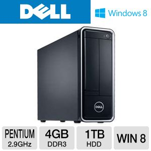DELL Inspiron Pentium 1TB HDD 4GB DDR3 Desktop PC