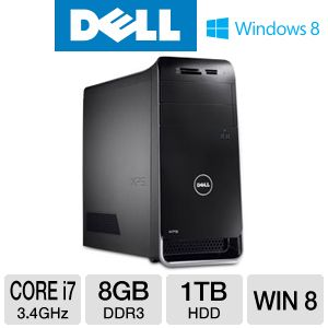 DELL XPS Core i7 1TB HDD 8GB RAM Desktop PC