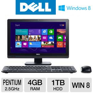 DELL Inspiron Pentium 1TB HDD All-In-One PC