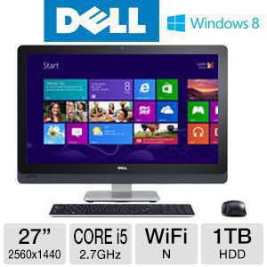 DELL XPS One Core i5 1TB HDD 6GB RAM All-In-One PC