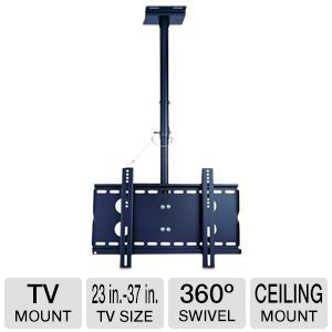 TygerClaw TV Ceiling Mount fits 23-37in