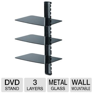 TygerClaw DVD 3 Shelf